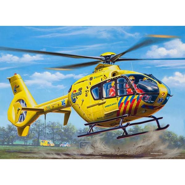 EC 135 Nederlandse Trauma Helicopter - model do sklejania (04939)