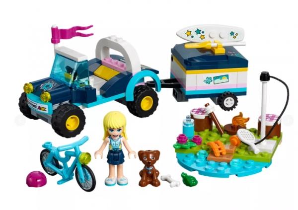 Lego Klocki Friends: Łazik z przyczepką Stephanie (41364)