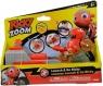 Ricky Zoom - wyrzutnia z motorem (T20038)mix kolorów