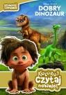 Dobry dinozaur Koloruj czytaj naklejaj
