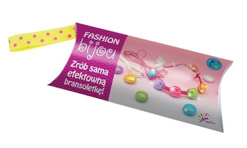 Fashion bijou zestaw 4 Zrób sama efektowną bransoletkę