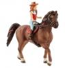 Koń Quarter + Dziewczynka