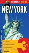 New York - guidebook + city atlas+ map 3 in 1 .