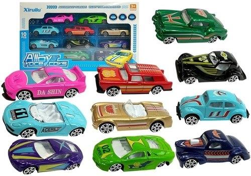 Zestaw samochodów resoraków - 10 autek