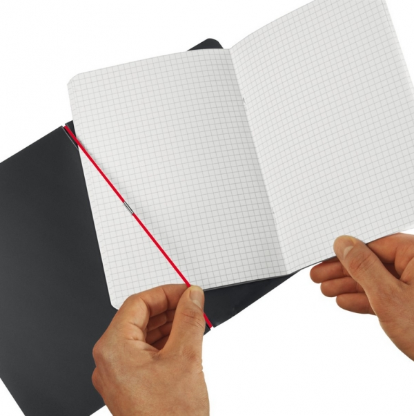 Notatnik my.book Flex A5/40k kratka - czarny (11361557)