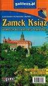 Przewodnik ilustrowany z mapami - Zamek Książ praca zbiorowa