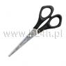 Nożyczki biurowe Titanum czarne (S02089)