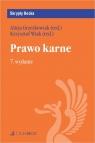 Prawo karne 7. wydanie Grześkowiak Alicja, Wiak Krzysztof