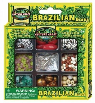 Biżuteria etniczna. Brazylia (mała) (890124) 890124B