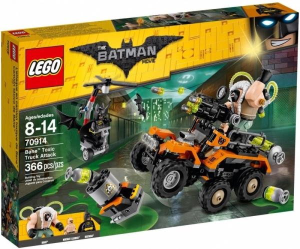 Lego The Batman Movie: Bane - atak toksyczną ciężarówką (70914)