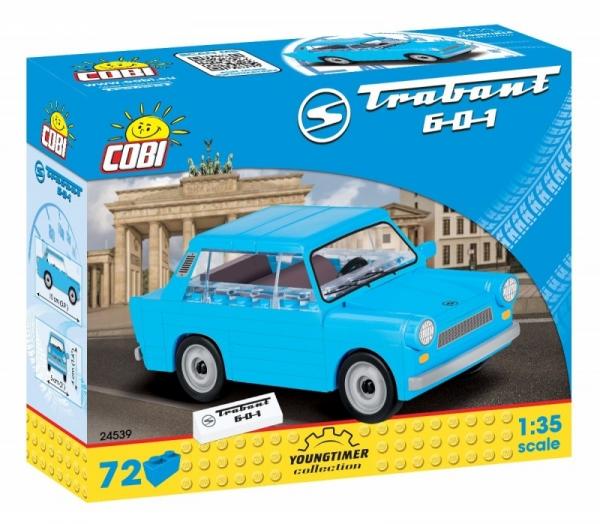 Cobi: Trabant 601 - 72 elementów (24539)