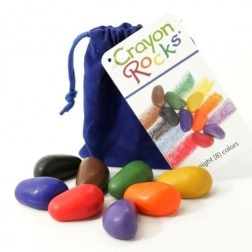 Kredki Crayon Rocks w aksamitnym woreczku 8 kolorów