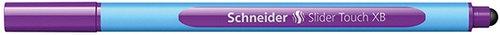 Długopis Schneider Slider Touch, XB, fioletowy