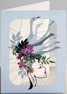 Karnet PM239 wycinany + koperta Kapelusz z gęsi
