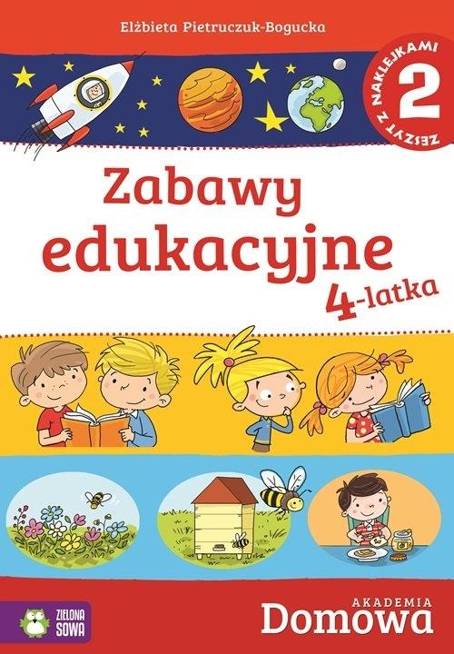 Domowa akademia Zabawy edukacyjne 4-latka Część 2 Pietruczuk-Bogucka Elżbieta