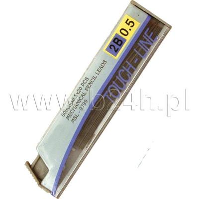 Grafit do ołówków 2B MSL-9799 Titanum 12szt