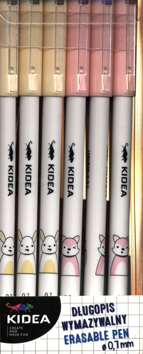Długopis wymazywalny A Kidea 12 sztuk (DWAKA)