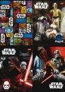 Zeszyt A5 Star Wars w trzy linie 16 kartek mix