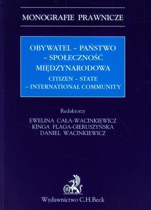Obywatel - państwo - społeczność międzynarodowa