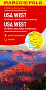 USA zachód Sierra Nevadawybrzeże Pacyfiku Góry Skaliste
