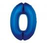 Balon foliowy 0 niebieski 85cm