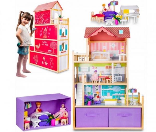 Domek dla lalek Villa Duo (55400)