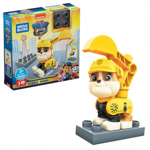 Mega Bloks: Psi Patrol, figurka Rubble-Ruben (GYV62)