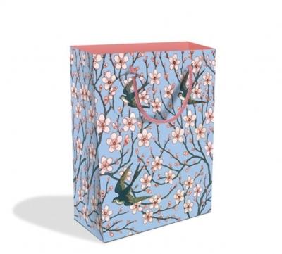 Torebka ozdobna średnia Almond blossom and swallow