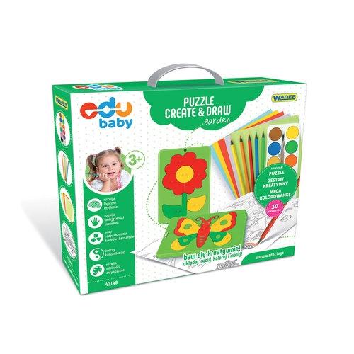 Puzzle Create & Draw Garden (42140)