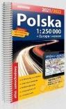 Atlas samachodowy Polska+Eur. 1:250 000 2020/2021 praca zbiorowa