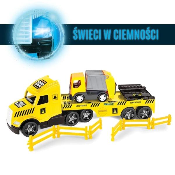 Magic Truck Technic - laweta ze śmieciarką (36440)