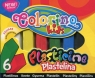 Plastelina kwadratowa Colorino Kids 6 kolorów (57400PTR)