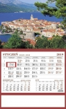Kalendarz 2019 Jednodzielny Korcula