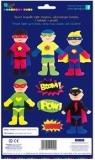 Zestaw kreatywny  Postacie z pianki Super Boys