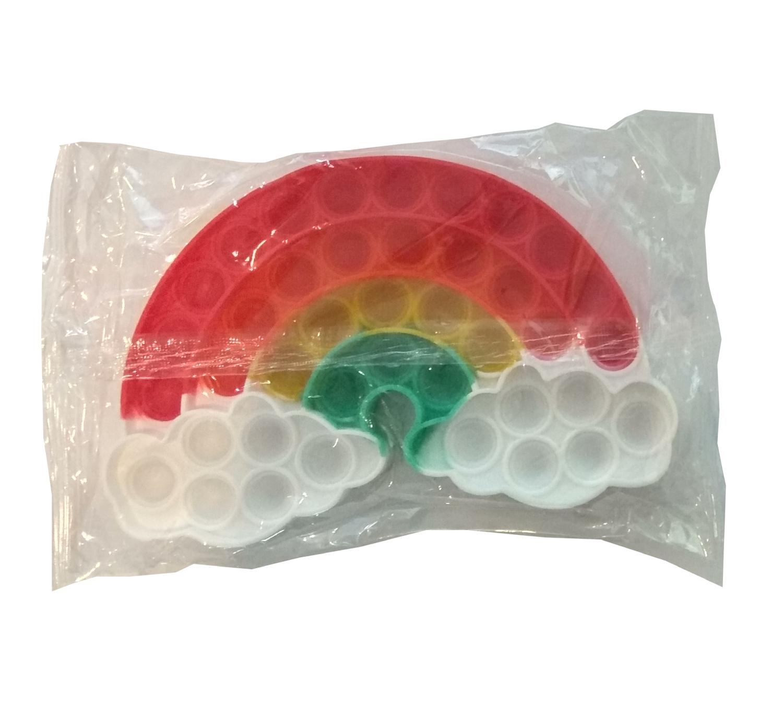 Plop Up! - zabawka sensoryczna, antystresowa, gniotek - Tęcza (621041)