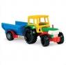 Traktor z przyczepą towarową (35001)