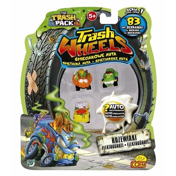 TRASH PACK Trash wheels 4-pak
