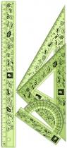 Zestaw do geometrii Staedtler - zielony
