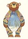 Karnet A123 B6 + koperta Zimowy niedźwiedź