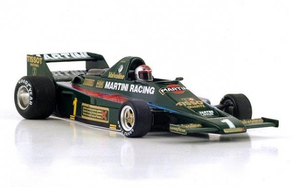 Lotus 80 #1 Mario Andretti 3rd
