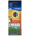 Kredki Lyra Groove slim - 12 szt. + temperówka (L2821120 FIL)