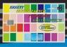 Zeszyty papierów kolorowych błyszczących A4 Protos