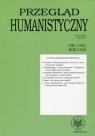 Przegląd Humanistyczny 2014 /1