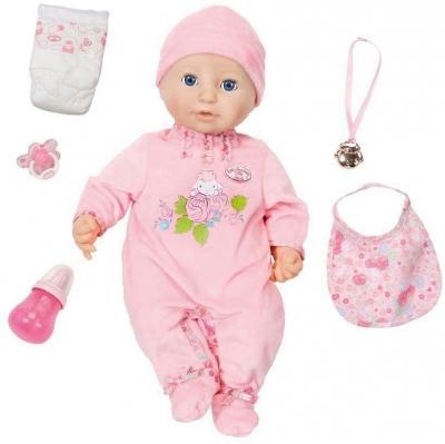Baby Annabell - Lalka funkcyjna z akcesoriami - dziewczynka 46 cm (794401)