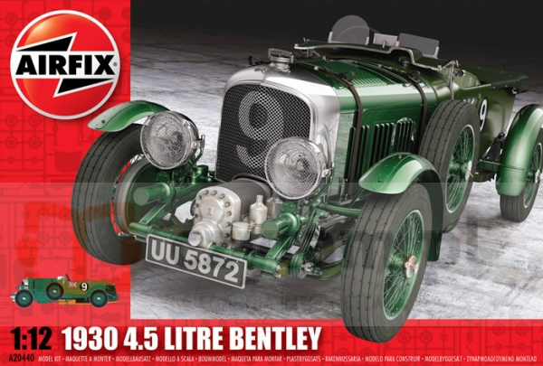 AIRFIX 1930 4.5 Litre Bentley (20440)