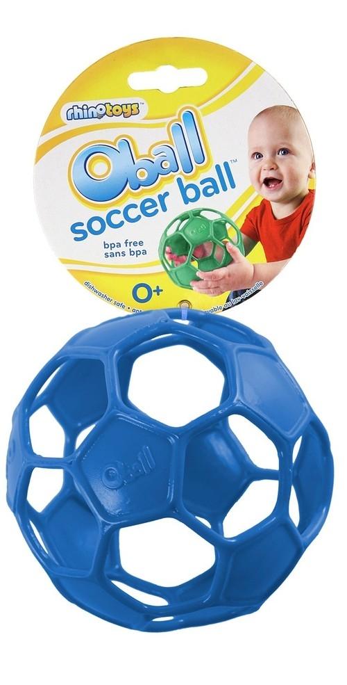 Oball soccer niebieska