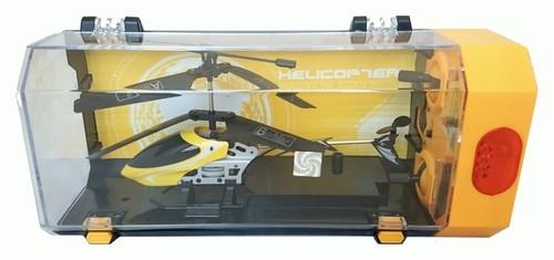 Helikopter zdalnie sterowany 3,5 kanałowy  18cm żółty