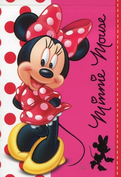 Notes A7 Minnie Mouse