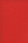 Kalendarz 2015 Książkowy Dzienny B6 Balacron czerwony