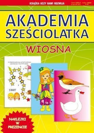 Akademia sześciolatka. Wiosna Guzowska Beata